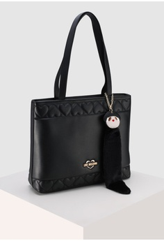 f359036716cab Love Moschino Heart Quilted Tote Bag RM 1,149.00. Sizes One Size