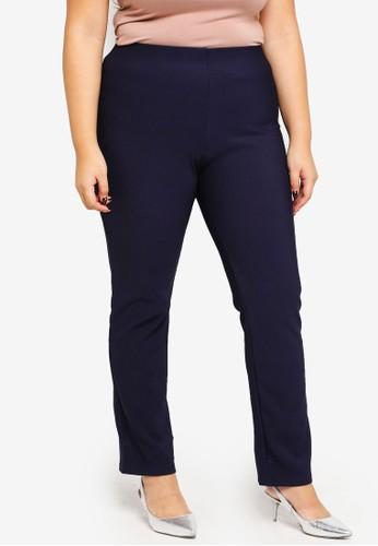 Gene Martino blue Plus Size Pants 1AC80AAC0B93B5GS_1