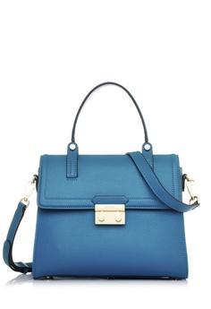 a6605832ecf3b BONIA blue Dark Turqoise Vienna Satchel M 9102BAC6340557GS 1