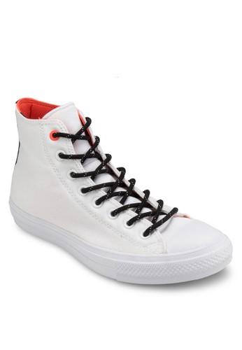 Chuck Taesprit分店ylor All Star II 撞色內襯高筒休閒鞋, 女鞋, 鞋