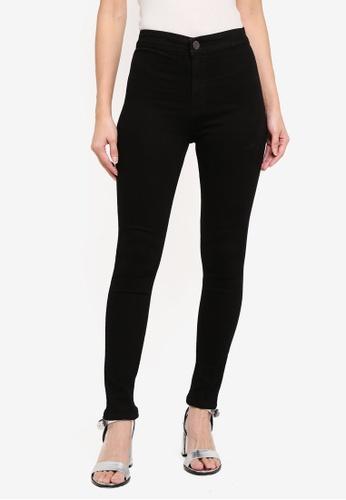 MKY Clothing black Highwaist Skinny Jeans No Pocket 100A3AA651C083GS_1