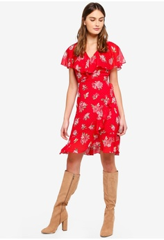 0156292ef376 60% OFF WAREHOUSE Floral Spot Chiffon Dress S  179.00 NOW S  71.90  Available in several sizes