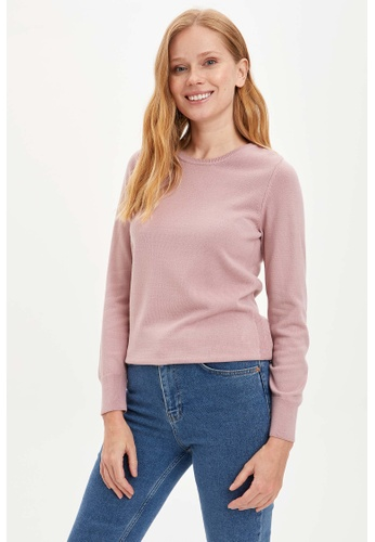 DeFacto pink Woman Pullover 6BA97AAC1C5760GS_1