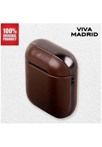 Viva Madrid brown Viva Madrid - Airex Vellum Airpods Case Brown F54BEES153F1CCGS_1