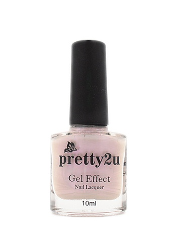 Pretty2u white Gel Effect Nail Lacquer 19 PR716BE93WRIMY_1