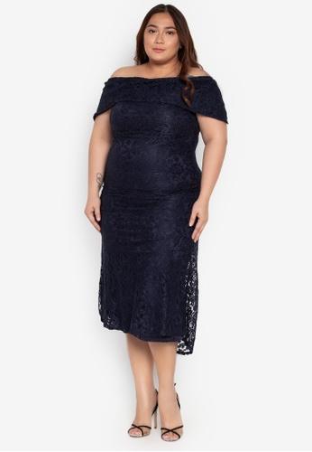 Shop Ashley Collection Plus Plus Size Maxi Dress Online on ZALORA  Philippines f96433d9f