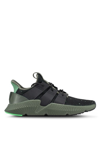 adidas black and green adidas originals prophere sneakers B177DSHD1228A4GS_1