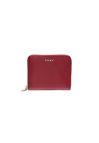 Dkny red DKNY Women Bryant Zip Around Wallet - Spring & Summer 2021 79837ACE5C844FGS_1