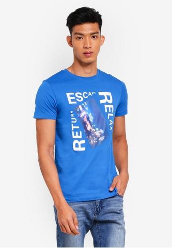 BOSS blue Topwork 03 Tee - Boss Casual D41FAAA55DFB7CGS_1