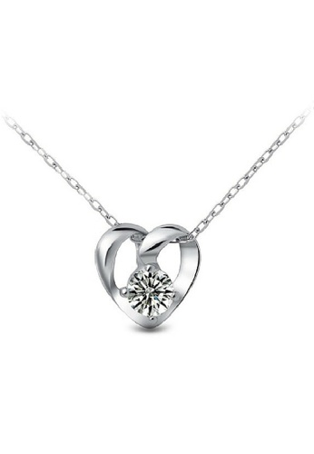 Vivere Rosse silver Melody of Love 925 Sterling Silver Necklace VI014AC33EBUMY_1