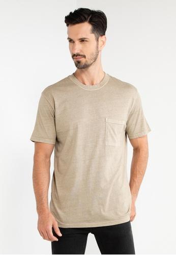 Cotton On beige Loose Fit T-Shirt 9C37EAAB30D3FDGS_1