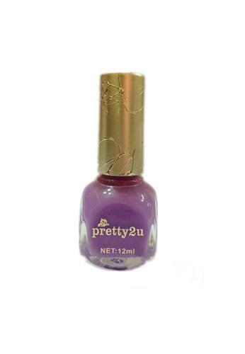 Pretty2u purple Candy Nail Polish-8 PR716BE17QMWMY_1