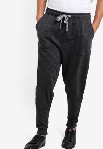 Factorie black College Trackies FA880AA82VCBMY_1