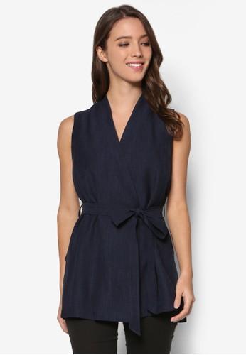 Petite Navy Sleeveless Jacket、 服飾、 服飾DorothyPerkinsPetiteNavySleevelessJacket最新折價