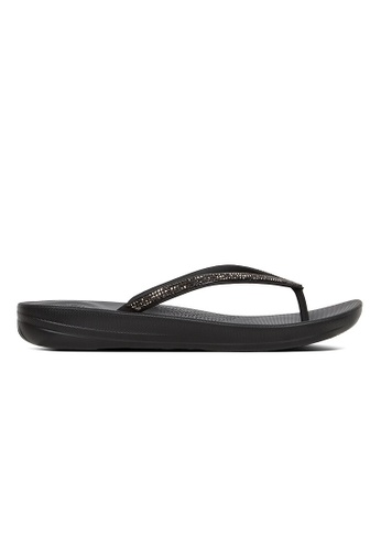 a68b652aa87 FitFlop black Fitflop Iqushion Sparkle (Black) 74B16SH9F55903GS 1