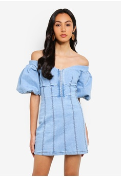 db10eae59e Finders Keepers blue Lemonade Dress 38CBCAA66A7998GS 1