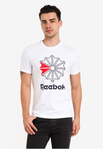 Reebok white F Gr Tee RE691AA0SX55MY_1