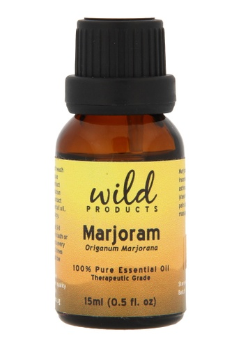 Wild Products Marjoram Essential Oil (Origanum Marjorana) - 15ml 54A57BEE87AEEFGS_1