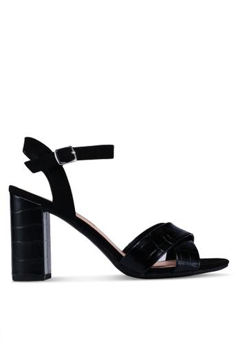 Dorothy Perkins black Black 'Serena' Block Heels 91856SH8BF09BEGS_1