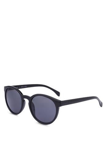 Rubi black Rollin Round Sunglasses FC6B7GL2709468GS_1
