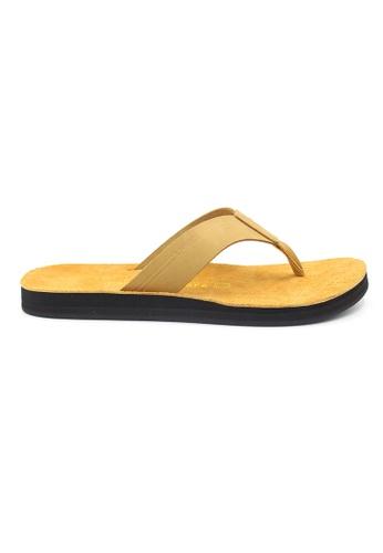 SoleSimple beige Quebec - Beige Leather Sandals & Flip Flops 08C91SHFCC751DGS_1