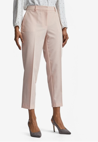 Dorothy Perkins pink Petite Pink Ankle Grazer Pants 17558AAEF986A9GS_1