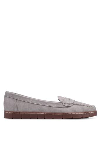Bata 灰色 休閒船型鞋 3930ESHDA8E249GS_1