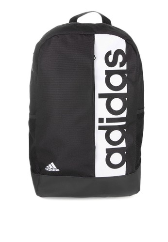 adidas black and multi adidas linear performance backpack AD349AC76AYXID_1