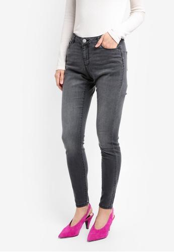 Dorothy Perkins grey Ashley Statement Skinny Jeans DO816AA0SRDZMY_1