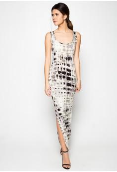 Samantha Long Slim Dress