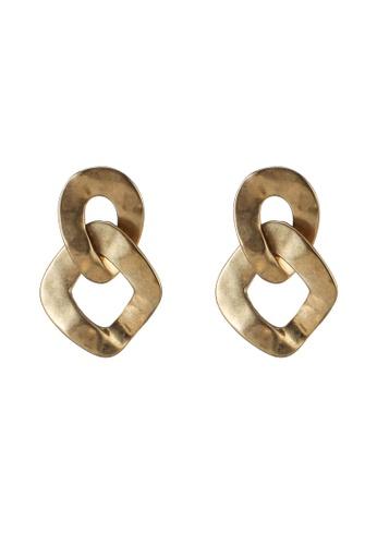niko and ... yellow Hoop Earrings B4DAAACBEF7443GS_1