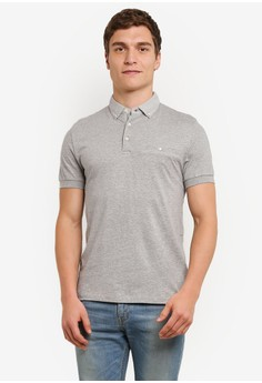 Image of Classic Contrast Collar Polo