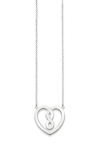 """THOMAS SABO silver Necklace """"Infinity Heart"""" F682EAC5F82D8AGS_1"""