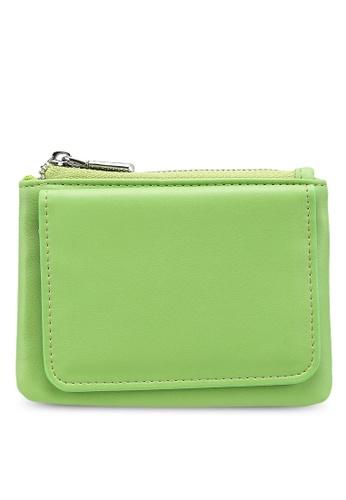 nose green Plain Mini Wallet CD5FEAC129D24CGS_1