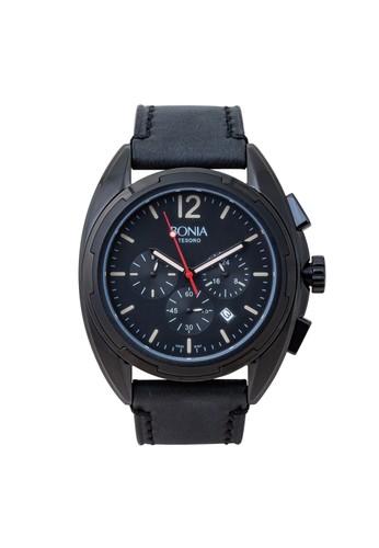 BONIA black Bonia BPT167-1735C - Jam Tangan Pria - Black 1408AAC05FE99FGS_1