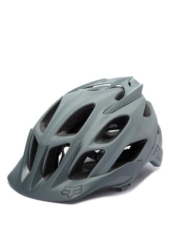 Fox Racing grey Flux Helmet FO276AC0JWHHPH_1
