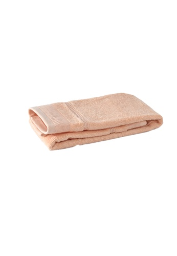 Primeo pink Premium Double Pile Peach Hand Towel 540gsm Soft High Absorbent F1820HL3B7C2FAGS_1