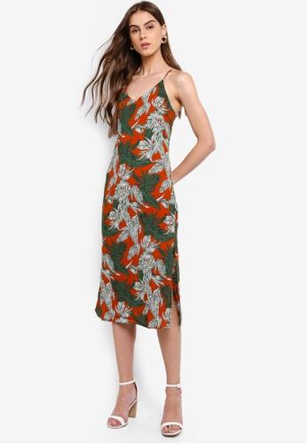 cda943d30a Buy ZALORA V-Neck Cami Dress Online on ZALORA Singapore