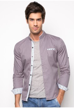 Omer Long Sleeve Button Down