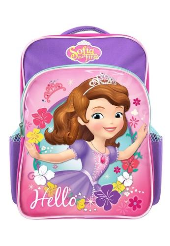 Disney Sofia The First purple Disney Sofia Hello Primary School Bag C653EKCDADD91DGS_1