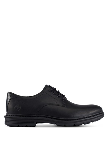 Timberland black Naples Trail Oxford Shoes TI063SH0RX4UMY_1