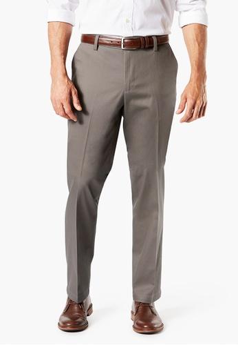 Dockers brown Dockers Signature Khaki Pants, Straight Fit 59409-0008 F62CEAA68B57EEGS_1