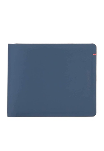 Pacsafe blue Pacsafe RFIDsafe TEC RFID Blocking Slim Bifold Wallet (Navy/Red) ED3A3ACB5CEE4AGS_1