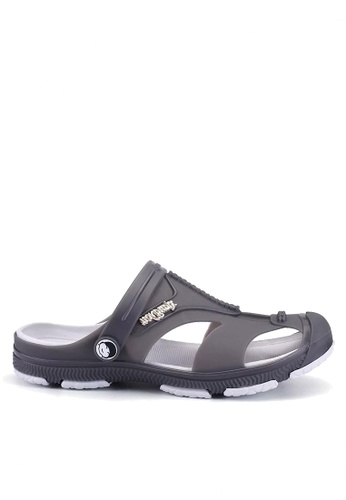 Twenty Eight Shoes grey Waterproof Jelly Rain and Beach Sandals VMR1721 F9E0DSH2EF5502GS_1