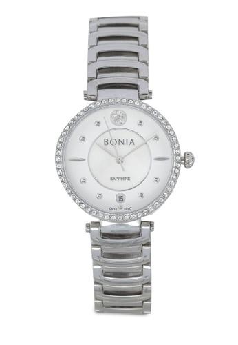 BONIA silver Bonia BNB10327-2357S Silver Stainless Steel Watch BO777AC0SE0XMY_1