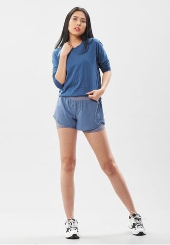AVIVA blue AVIVA Cora Ultra Soft Long Sleeve Top 20D77AA059F099GS_1