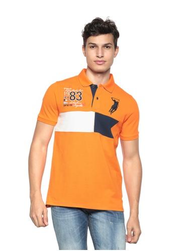 POLO HAUS orange Polo Haus - Polo Tee  (Orange) PO783AA00PGLMY_1