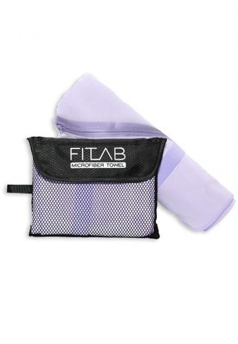 Fitlab purple Microfiber Bath Towel E757AHLAC95572GS_1