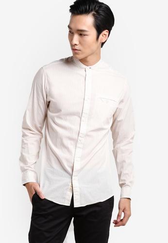 Selected Homme white Long Sleeve Shirt SE364AA50EQJMY_1