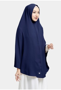 COTTON BEE navy Cotton Bee Azizah Khimar - Shapphire F783EAAC5EB453GS 1 c5bdc981e8